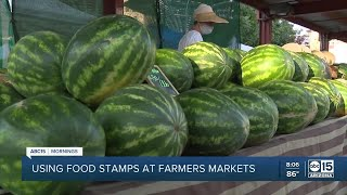 SNAP program doubles food stamp dollars at farmers markets