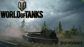 SU-100M1 Ace Tanker and 7 Kills - King of Ensk - World of Tanks
