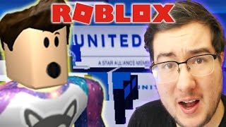 ROBLOX PLANE CRASH - FLYING UNITED