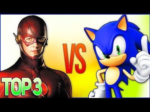 СБОРНИК РЭП МУЛЬТФИЛЬМОВ (СОНИК VS ФЛЕШ) | Top 5 Cartoon Rap Song (The Flash VS Sonic x)