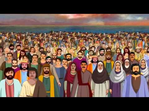 Bible Stories For Kids - Feeding 5000 ( Jesus Cartoon Animation In English )