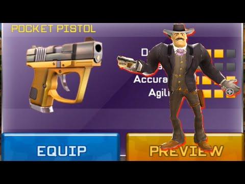 Respawnables Pocket Pistol Review - Fastest Gunslinger Event Prize