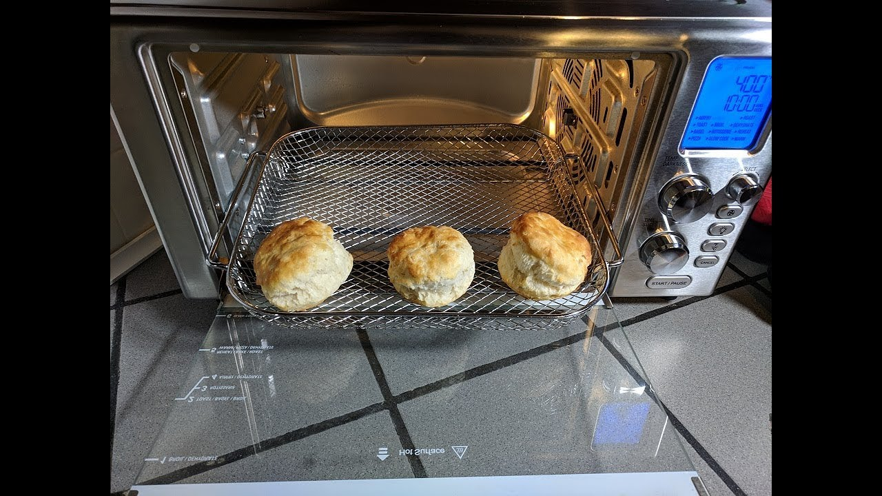 Frozen Biscuits Convection Toaster