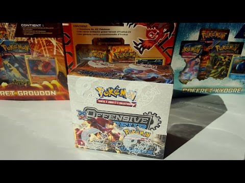 [Display Pokémon XY Offensive Vapeur]. #1/2 Attrapons les to