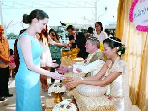 Thai Wedding Ceremony Som Amp Butch