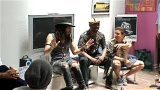 Exclusive Russell Brand & his Guru Talking to Teens about Addiction to Recovery