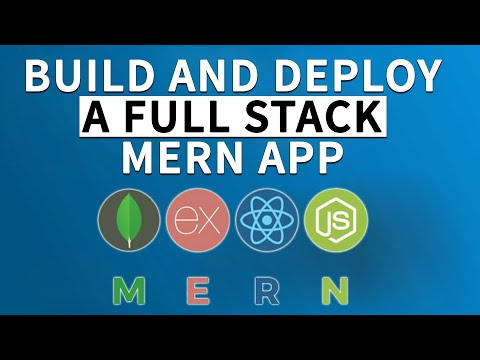 Full Stack MERN Project - Build And Deploy An App   React + Redux, Node, Express, MongoDB [Part 1/2]