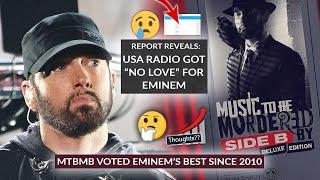 Data Reveals US Radio Did Eminem Dirty In The 2010s, Fans Crown MTBMB Deluxe His Best Recent Album