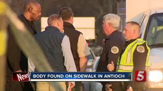 Man Found Murdered On Antioch Sidewalk