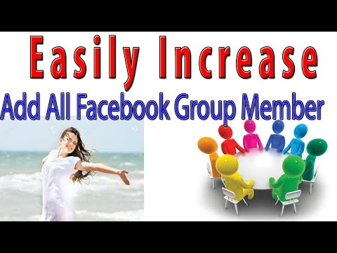 How To Increase Lot Of Real Facebook Group Members -1000 % Working  Trick forever