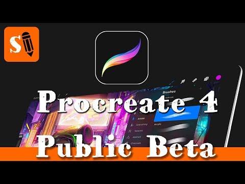 Procreate 4 Public Beta for Download! Mp3