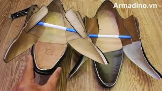 Tại sao giày tây cao cấp lại đắt hơn và cứng hơn giày tây thông thường?