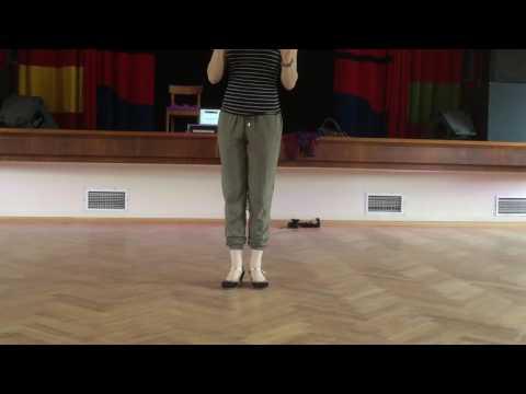 Fall of the log and Suzie Q (Sharon Davis)