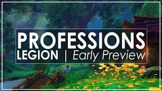 WoW Legion: Revamped Gathering Professions! [Herbalism Early Look]