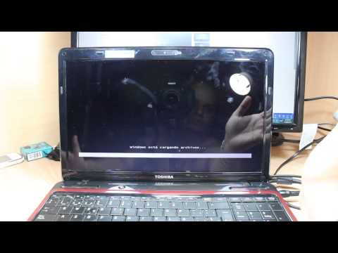 Toshiba Satellite L Series Hard Factory Reset To