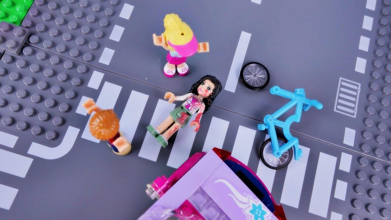 Wypadek Emmy I Piatek 13 Bajka Po Polsku Klocki Lego Friends Odc