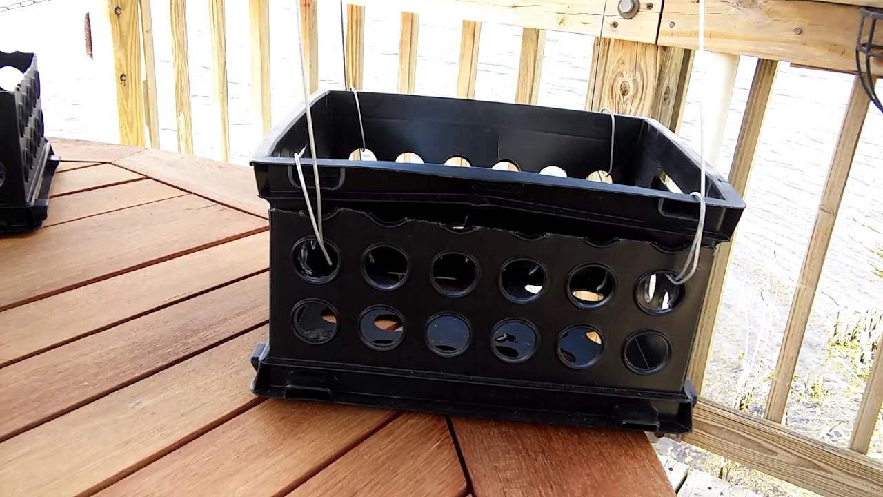 Youtube Hanging Flower Baskets : Economical hanging plastic plant baskets