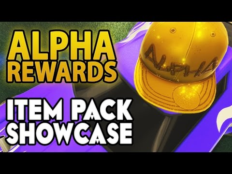 """Alpha Rewards"" - Item Pack SHOWCASE 