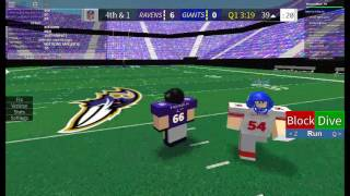 Roblox #1 [FE] Football Game Ravens VS Giants