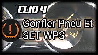 حل مشكل Gonfler Pneus ET SET TPW Clio 4