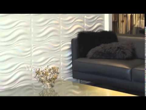 Panneau mural 3d donnez vie vos murs youtube - Panneau mural tv design ...
