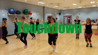 Touchdown - Kerwin Du Bois  | Dance Fitness | ashley jabs