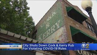 Cork & Kerry Pushes Back After Being Shut Down By City