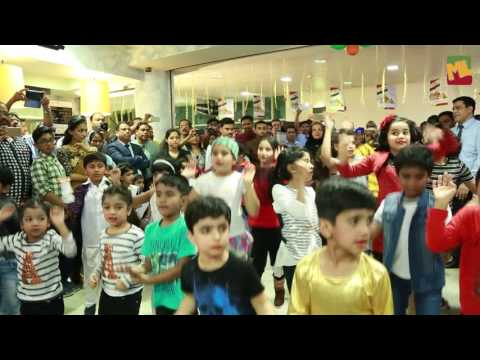 ML DANCE MOB take over shopping mall in DOHA