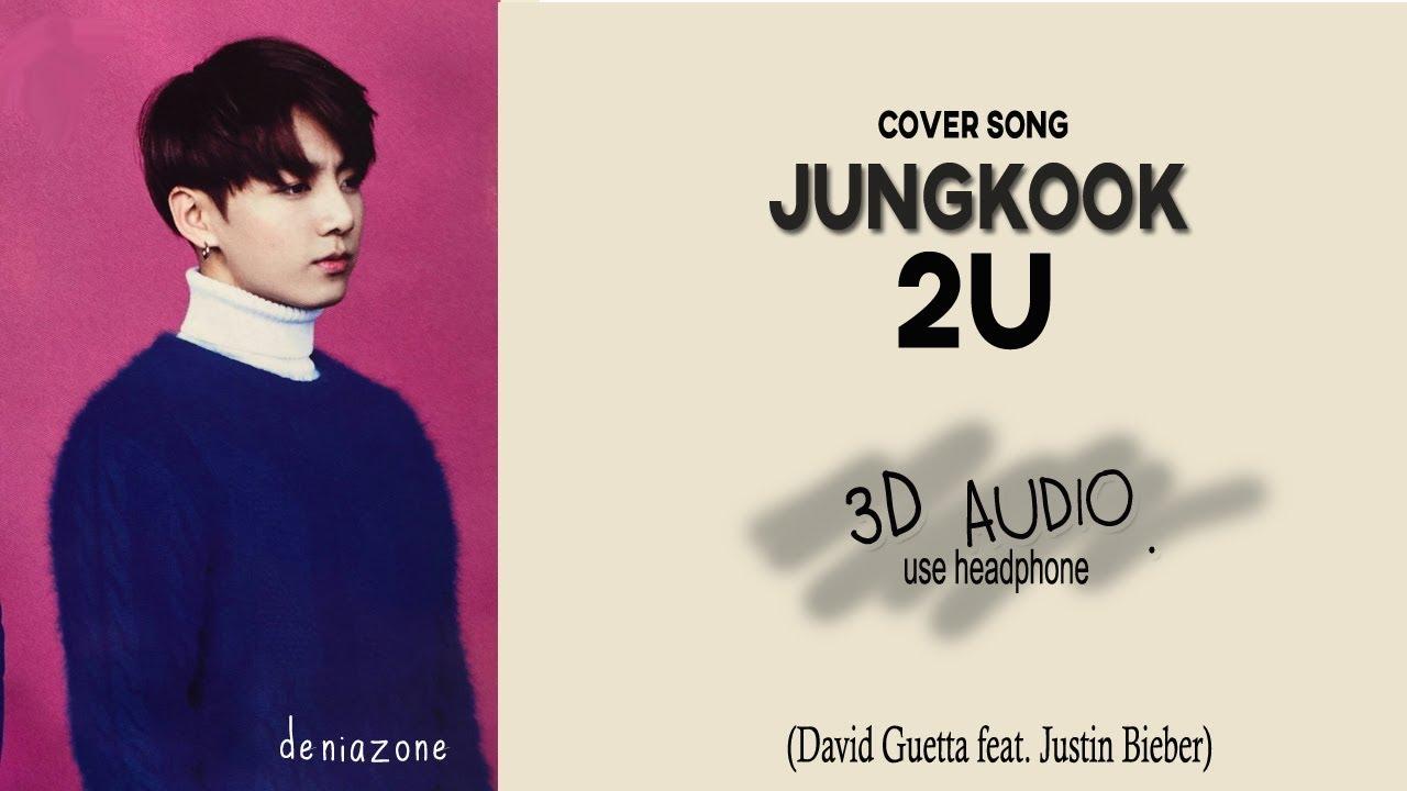 [3D+LYRICS] BTS JUNGKOOK - 2U (Headphone Needed)