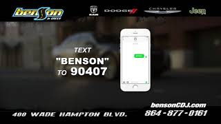 Click The Green Button On Our Website For The Benson Cyber Car Catalog
