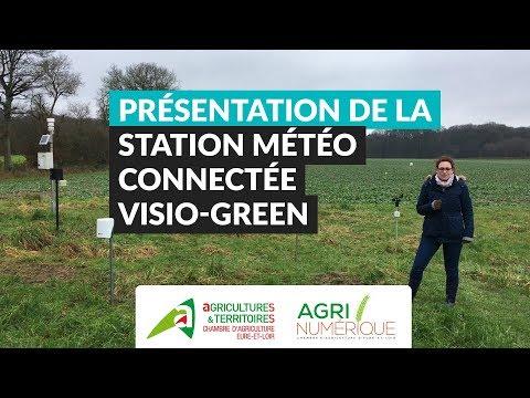 Présentation de la station météo connectée Visio-Green