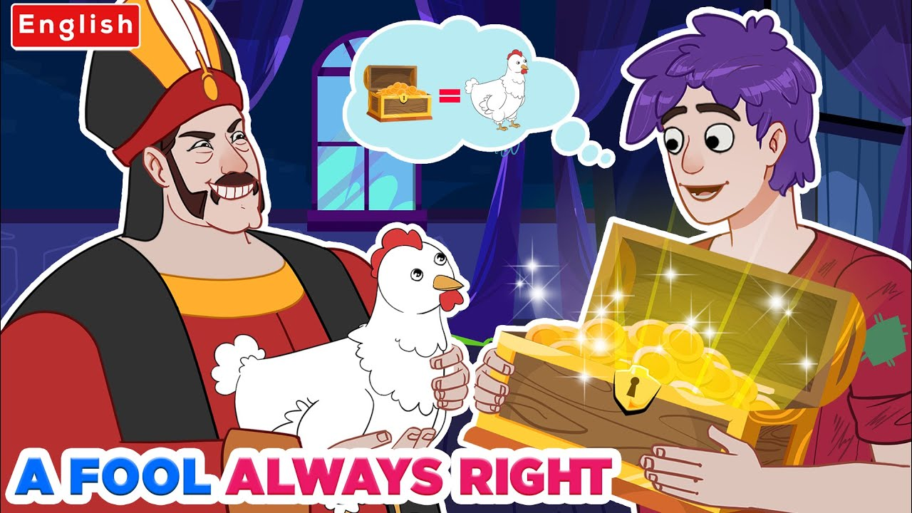 A Fool Always Did Everything Right 👲 | Story For Teenagers | WOA Fairy Tales