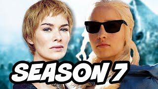 Game Of Thrones Season 7 Cersei Lannister Mad Queen and Dragon Pit