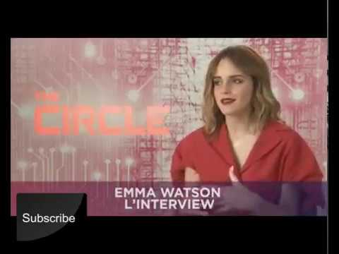 Emma Watson The Circle Movie Interview