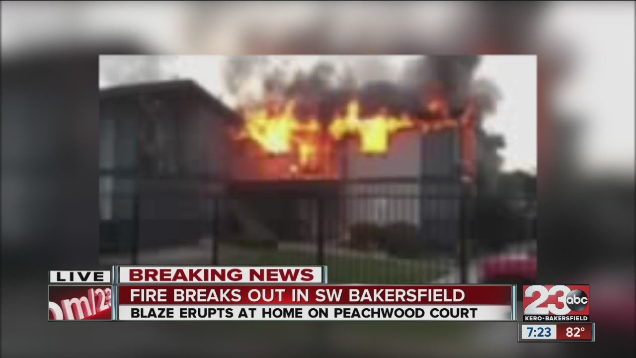 Fire breaks out at SW Bakersfield condo