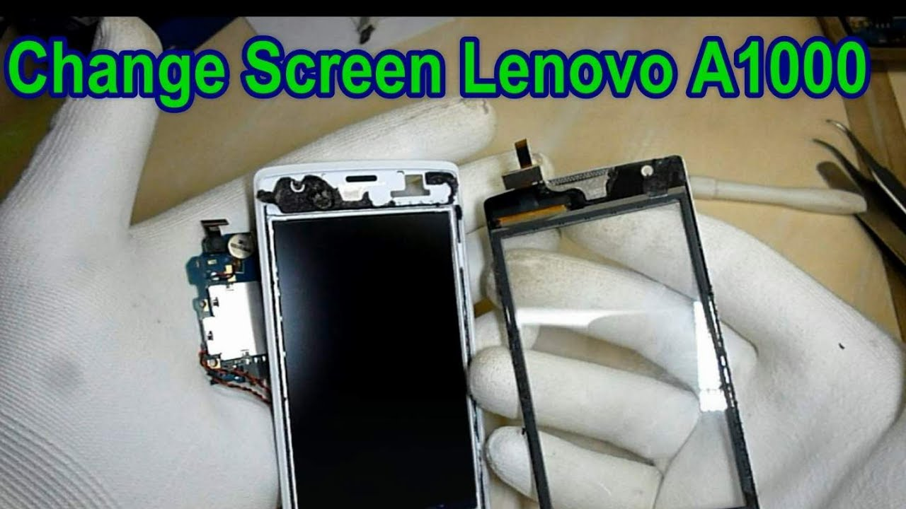 How To Change Screen Lenovo A1000 Youtube Touchscreen A2020 Vibe C Ts Mobile Fix