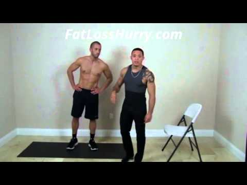 Easy Home Workout To Lose Weight – Using Just 4 Movements!