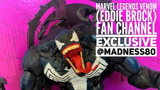 Marvel Legends Venom (Eddie Brock) Fan Channel exclusive review