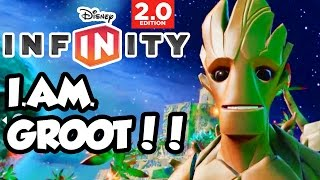 Disney Infinity 2.0 - Toy Box Share - I Am Groot!!