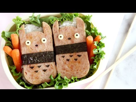 How to Make Totoro Spam Musubi!