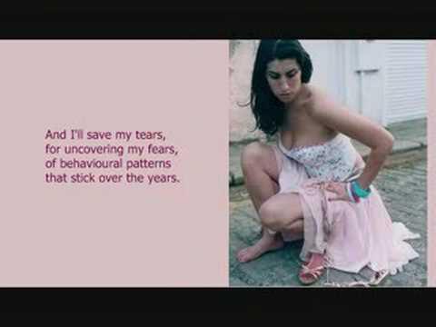 Amy Winehouse - What Is It About Men (lyrics)