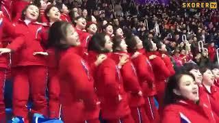 Kuzey Koreli ponpon kızların şovu olay yarattı! [Fubal TV] Video