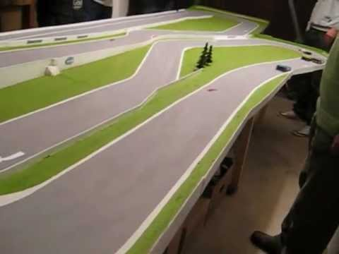 Slot cars without slots.