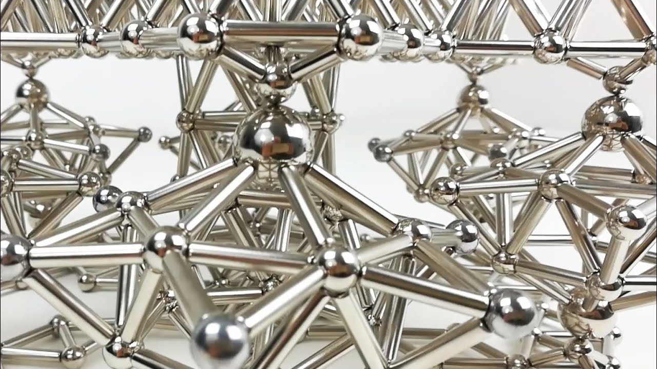 Satisfying Dynamic Sculpture Magnetic Gears Magnetic Games