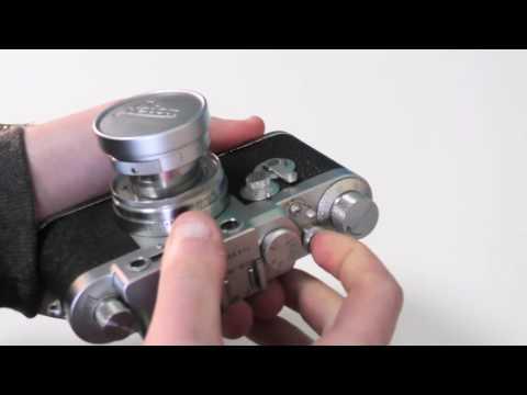 Loading The Leica IiiG 35mm Rangefinder