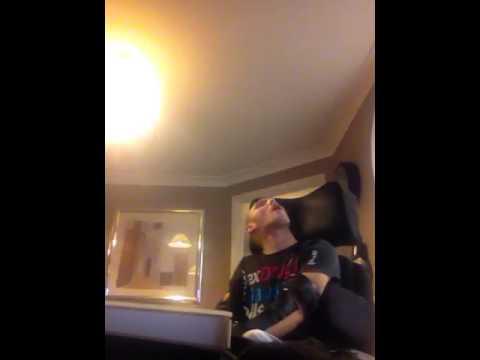 Giles singing Justin beiber