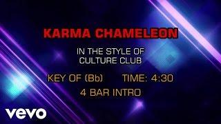 Culture Club - Karma Chameleon (Karaoke)