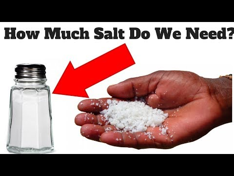 How Much Sodium Do You Need Per Day? 2 months No Added Salt
