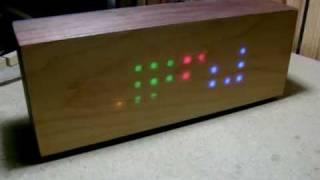 Diy Led Wooden Clock