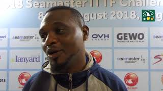 Jamiu Azeez talks about the reason he stopped playing Table Tennis for 10 years